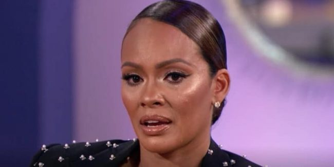 Evelyn Lozada in tears on the Basketball Wives reunion