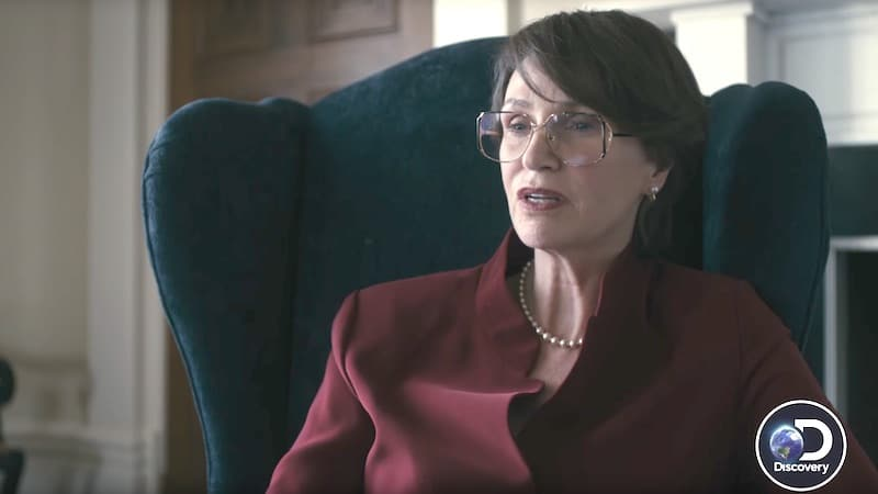 Jane Lynch as Janet Reno in Manhunt: Unabomber