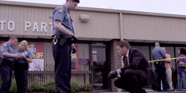 Antoine McKenzie crime scene as Lt. Kenda investigates
