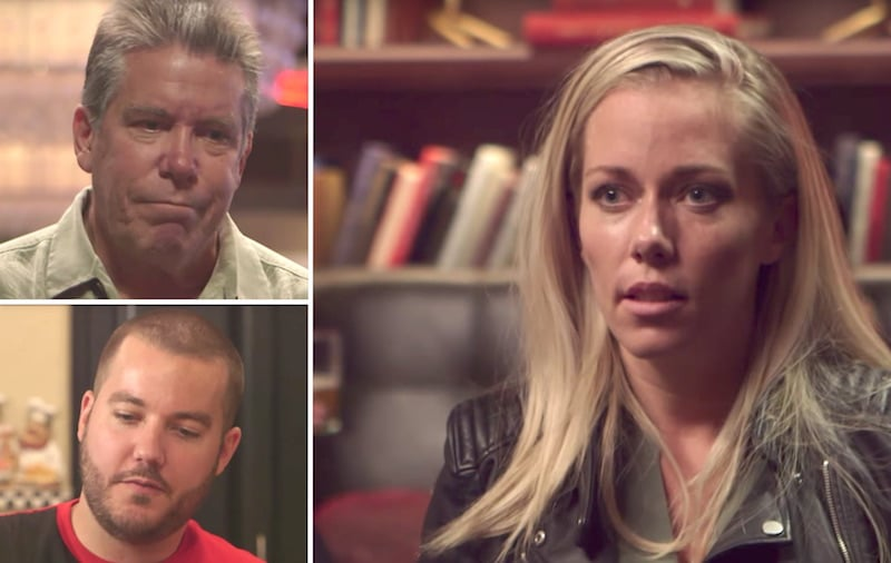 Kendra Wilkinson and her father and brother on Kendra on Top