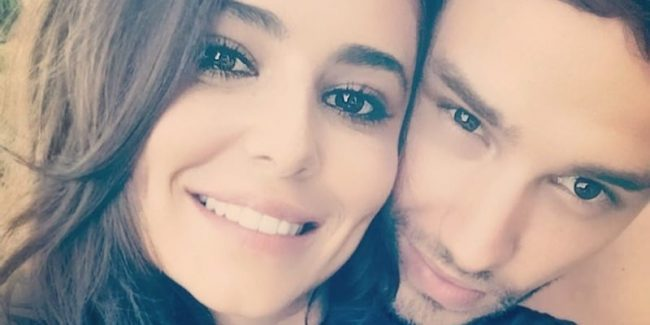 Liam Payne and Cheryl on holiday