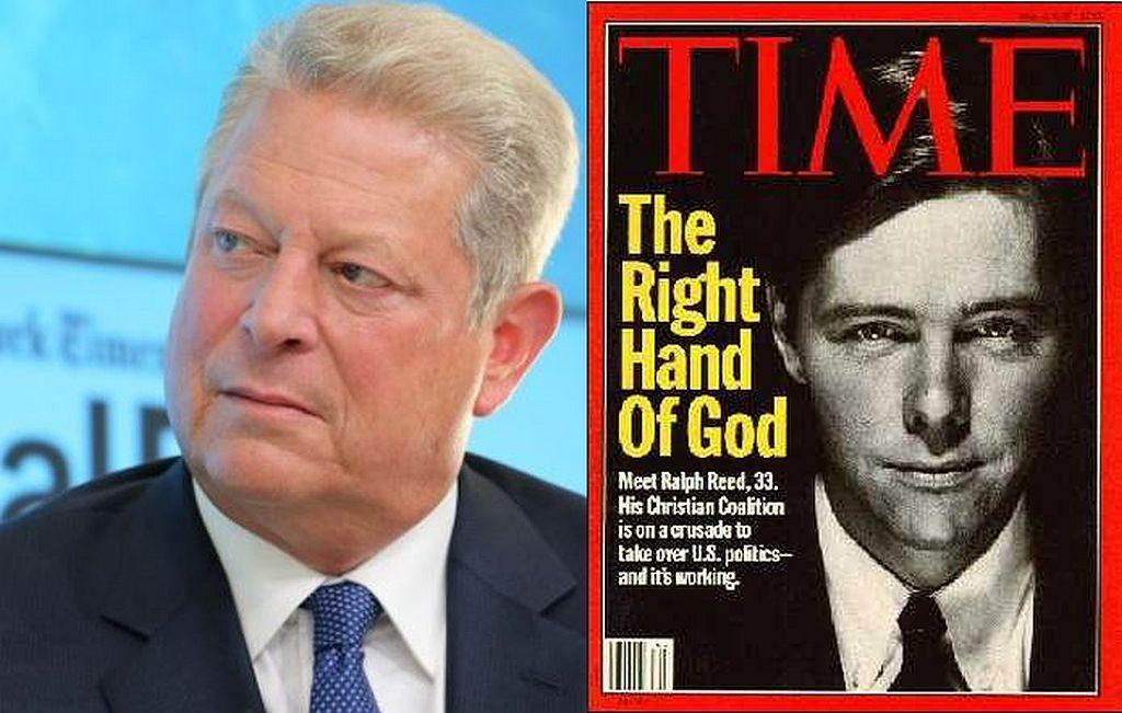 Al Gore, Ralph Reed Jr.