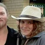 Alaskan Bush People's Noah and fiance Rhain posing together