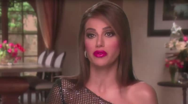 Peggy in a confessional on The Real Housewives of Orange County