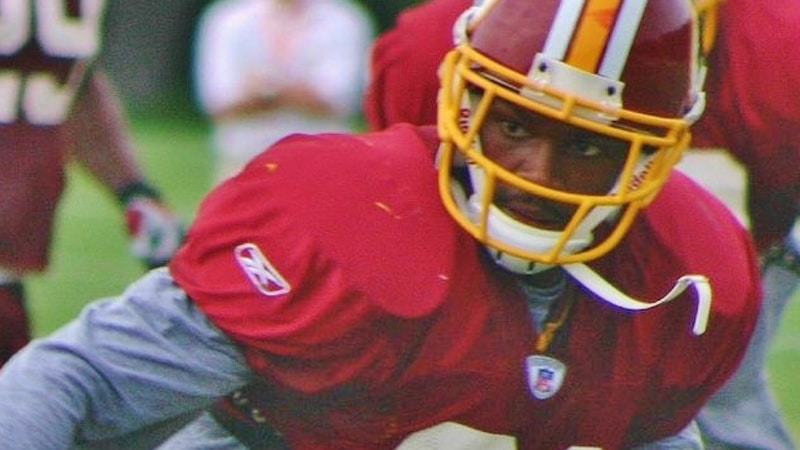 Washington Redskins player Sean Taylor