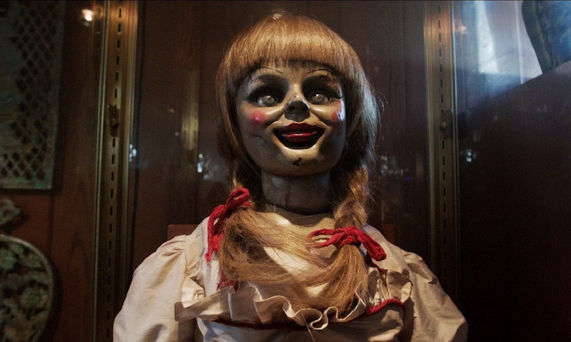Annabelle the doll in The Conjuring