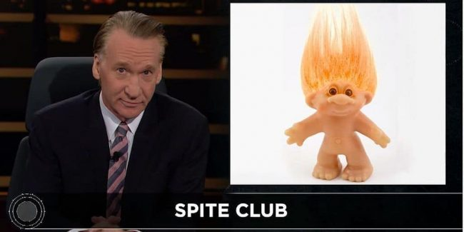 Real Time with Bill Maher: Trolling Republicans are like Democrats' 'crazy ex-girlfriend'