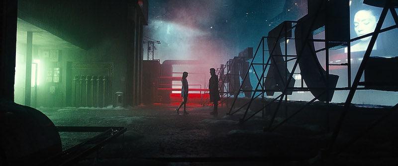 Blade Runner 2049 rain