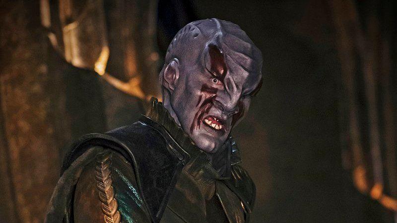 A Klingon from Star Trek: Discovery