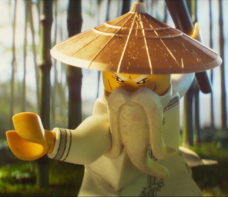 Lego NINJAGO Kung Fu pose
