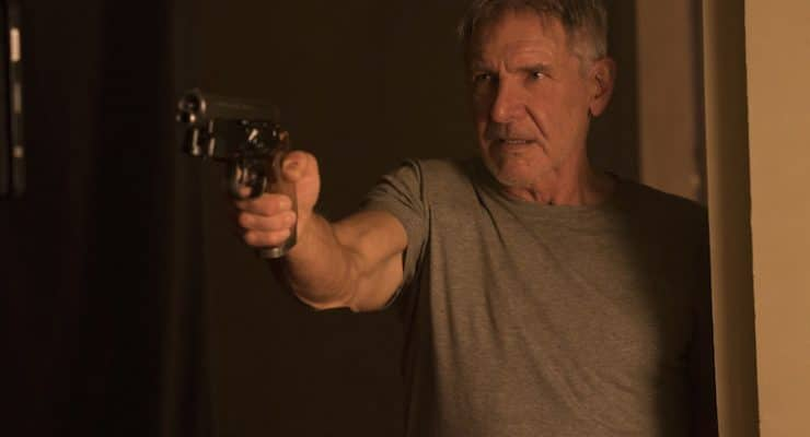 Harrison Ford's Blade Runner entrance on set was more dramatic than the movie