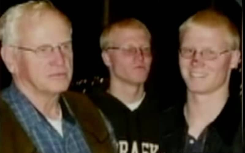 Caleb and Joshua Bledsoe pictured along with their father William