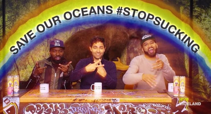 Adrian Grenier wants you to stop sucking straws and save the oceans
