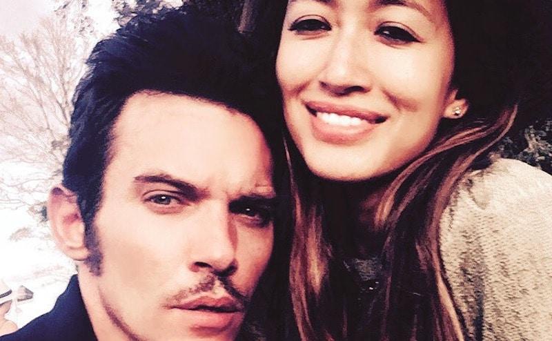 Mara Lane and husband Jonathan Rhys Meyers