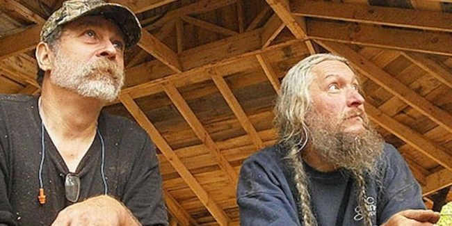 Preston Roberts and Eustace Conway