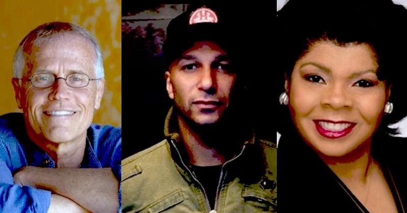 Paul Hawken, Tom Morello and April Ryan