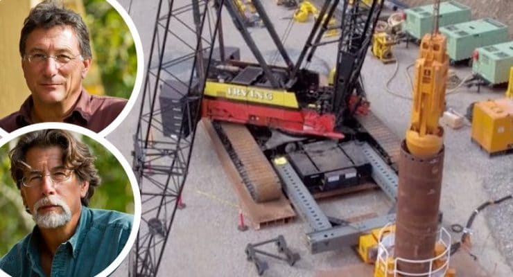 The Curse of Oak Island hunt goes into overdrive as more monster equipment arrives for dig