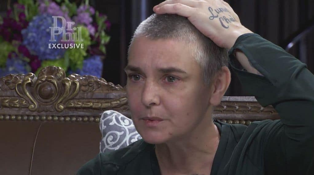 Sinead O'Connor 'very happy' to be receiving help for mental illness
