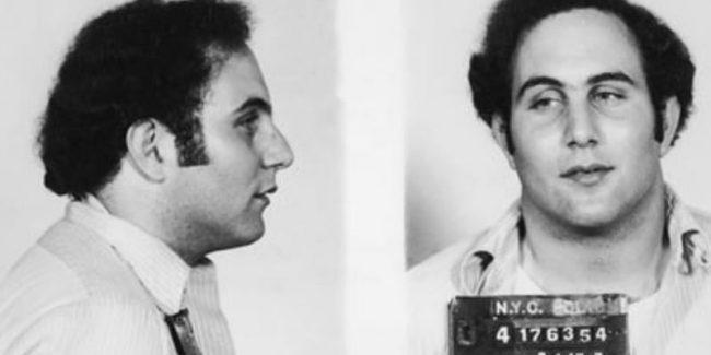 David Berkowitz aka Son of Sam mugshot