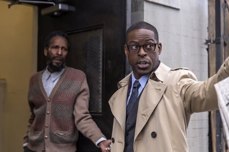 Sterling K. Brown as Randall Pearson in This Is Us