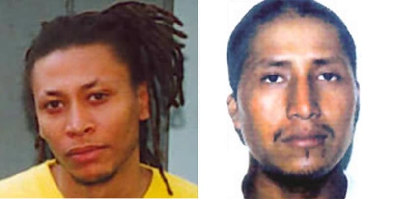 Missing Persons headshots of Terrance Williams and Felipe Santos