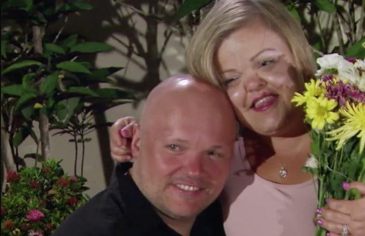 Christy Gibel and Todd Gibel on Little Women: Couples Retreat