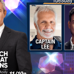 Andy Cohen and pictures of Captain Lee and Jax Taylor
