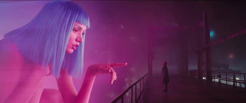 The technology of Blade Runner 2049