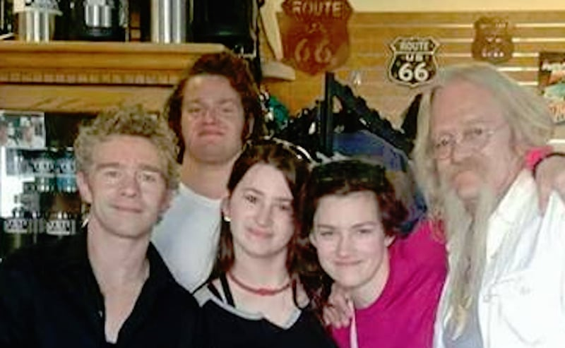 Alaskan Bush People's Brown family, minus Noah and Ami, in Ash Fork, Arizona