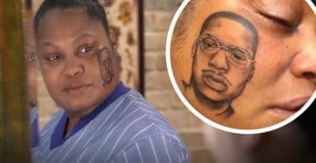 The client with a face tattoo of her dead son on Black Ink Crew: Chicago