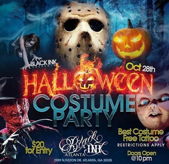 Black Ink Crew's Atlanta Halloween Costume Party