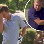 Chase and Todd Chrisley playing golf on Chrisley Knows Best