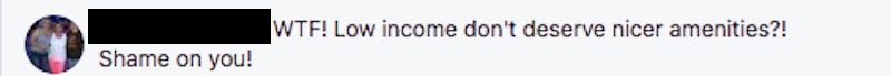 Flipping Out fan Facebook comment