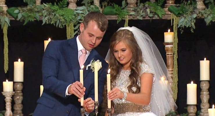 Joseph Duggar and Kendra Caldwell's romantic wedding shown in emotional Counting On special