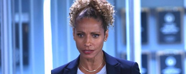 Michelle Hurd as police chief Gina Santos in Lethal Weapon Season 2