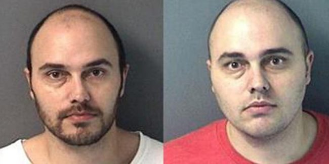 Christopher (left) and William Cormier III mugshots