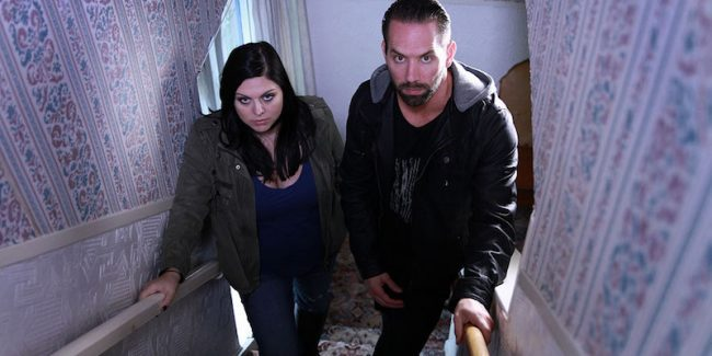 Nick Groff and Katrina Weidman from Paranormal Lockdown