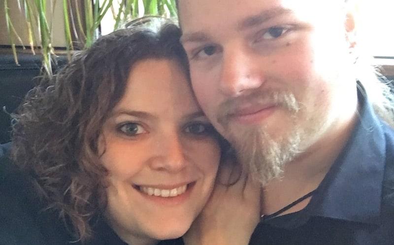 Alaskan Bush People's Noah Brown with fiancee Rhain Merrill