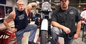 Paul Teutul Sr. and Paul Jr. on American Chopper