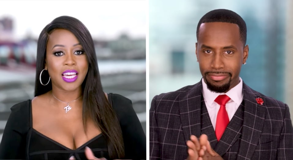 Remy Ma and Safaree Samuels