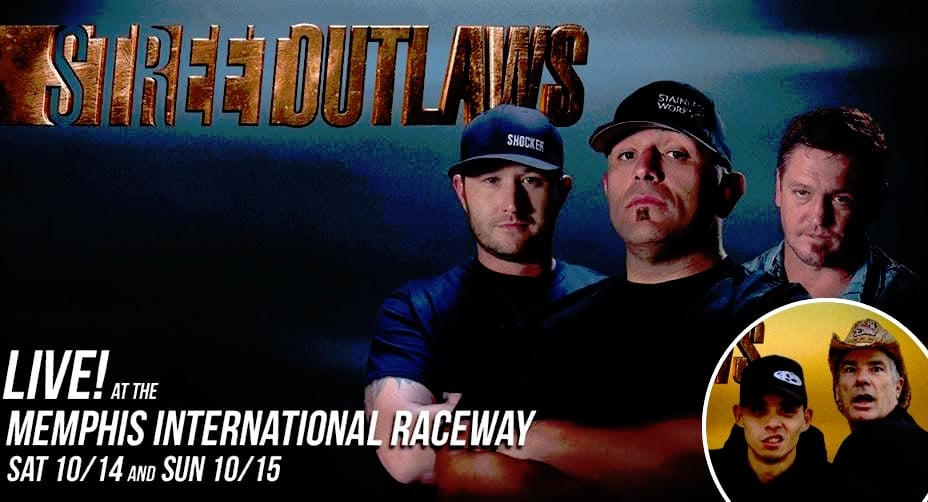 Kye Kelley, Big Chief, JJdaBoss, Farmtruck and AZN on a Street Outlaws Live poster