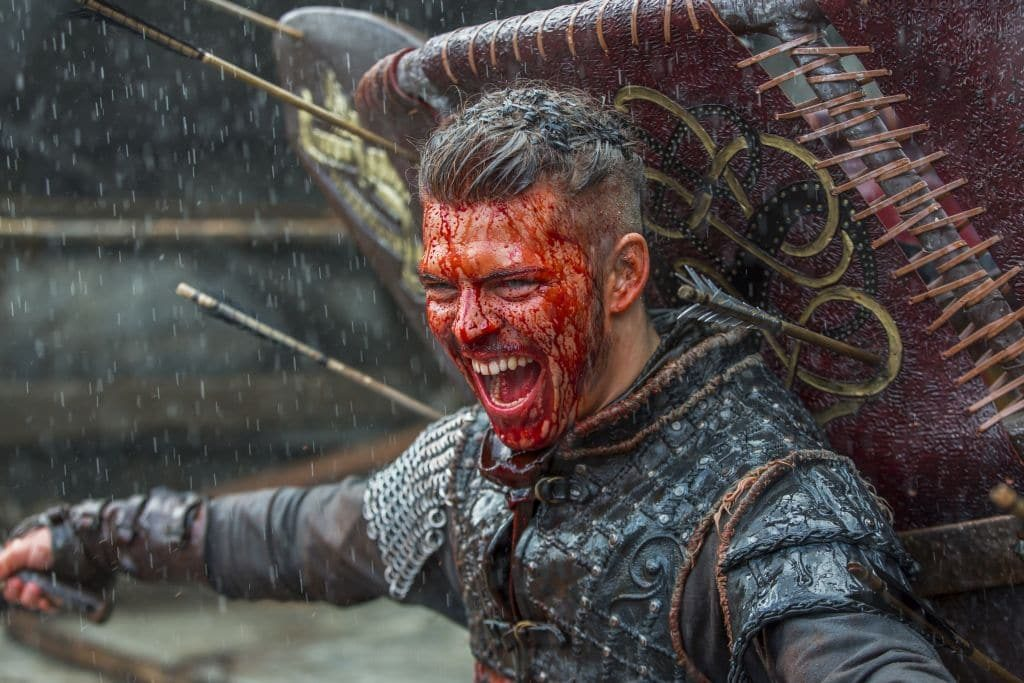 Ivar the Boneless thinks he is a god on earth Pic credit: History