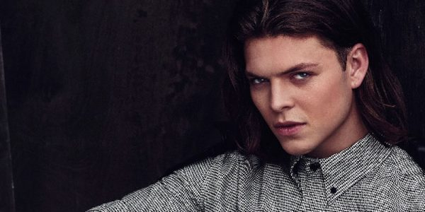 Vikings star Alex Høgh Andersen swaps savagery for style in smouldering photoshoot