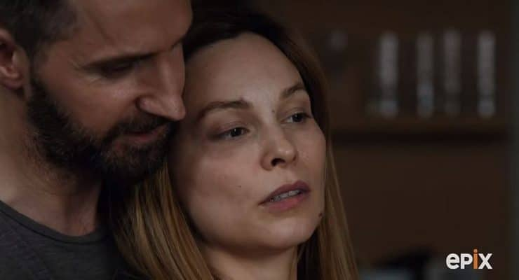 Berlin Station exclusive: Daniel and Esther cook up a deal in the kitchen