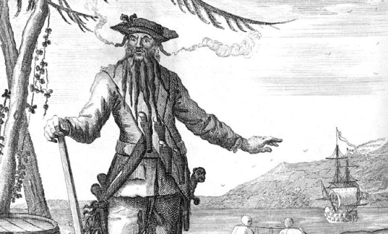 A sketch of Blackbeard