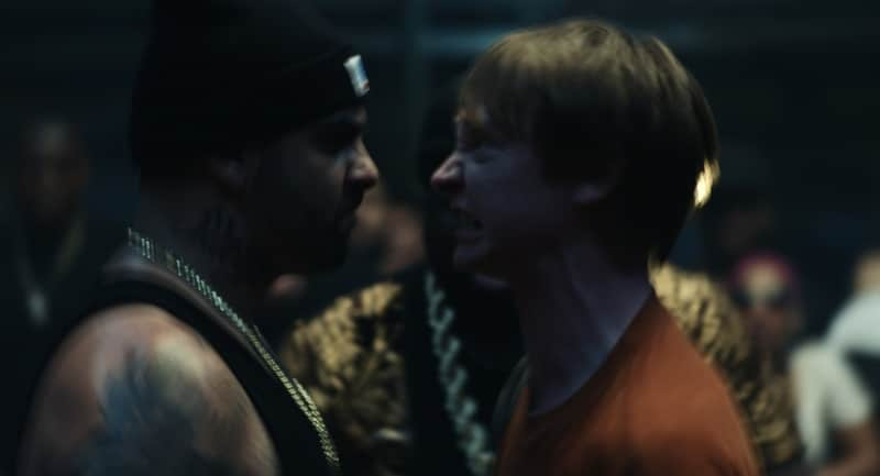 Dizaster and Calum Worthy in Bodied