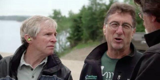 Marty Lagina and Craig Tester talk to Rick Lagina