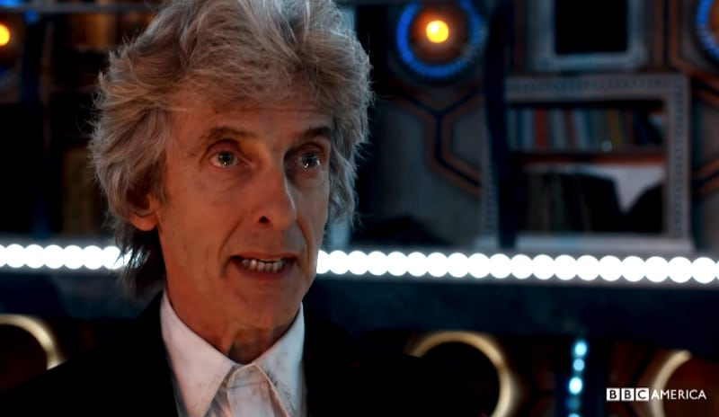 Peter Capaldi as Doctor Who