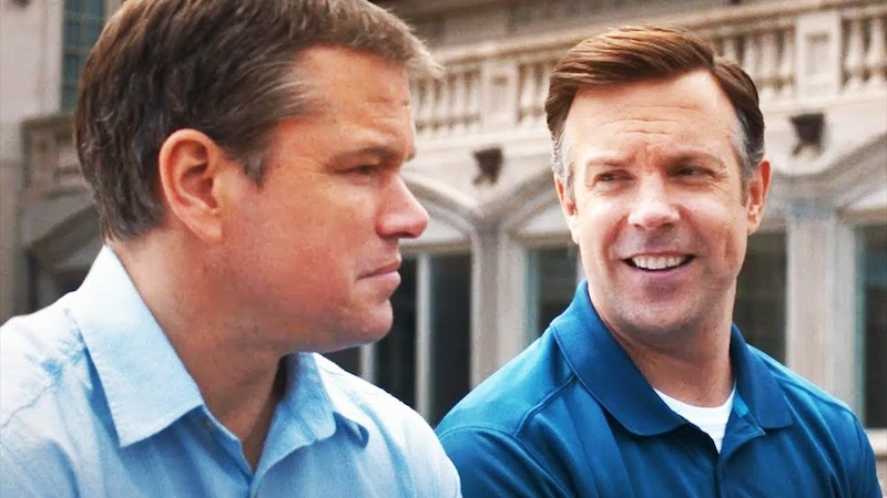 Matt Damon and Jason Sudeikis