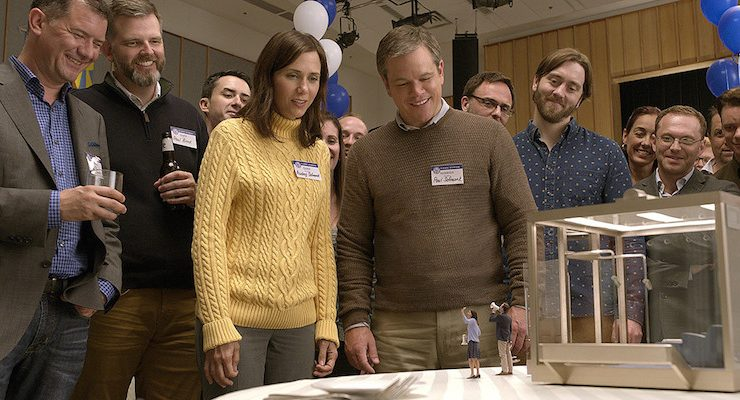 Downsizing movie review: The insufferable shrinking man